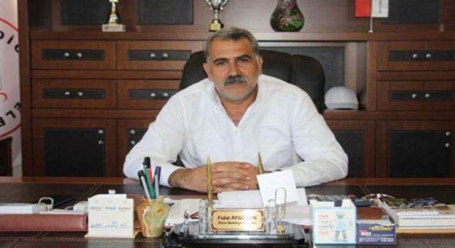 Dicle Belediye Başkanı Felat Aygören HDP'den istifa etti.