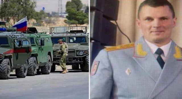 Rus general Suriye'deki patlamada hayatını kaybetti