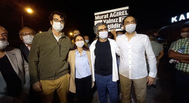 Gazeteciler Barış Pehlivan, Hülya Kılınç ve Murat Ağırel tahliye oldu