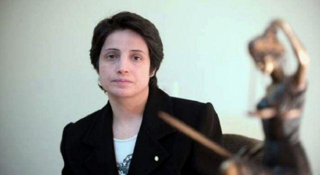 İran hapishanesinde açlık grevinde bulunan Sakharov ödülü sahibi insan hakları aktivisti Nesrin Sotoudeh, hastaneye kaldırıldı