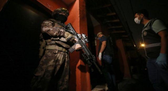 İstanbul'un 7 ilçesinde eş zamanlı YPG/PYD operasyonu düzenlendi