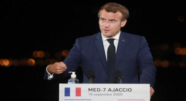 Macron: Türkiye'ye net bir mesaj gönderdik