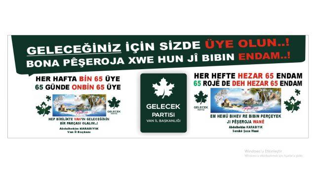 Karabıyık: AK Parti asınca adet, Gelecek Partisi asınca kabahat!