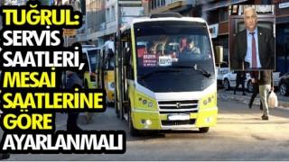 Tuğrul'dan pandemi döneminde şehir içi ulaşımda çözüm önerisi!