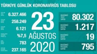 Türkiye'de 19 kişi koronavirüsten hayatını kaybetti