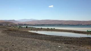 Van Gölü sahili çöp alanına döndü (VİDEO)