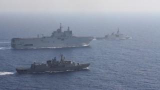 Yunanistan AB üyesi müttefikleriyle tatbikata başladı, gerilimin dindirilmesi için diplomasi trafiği hızlandı