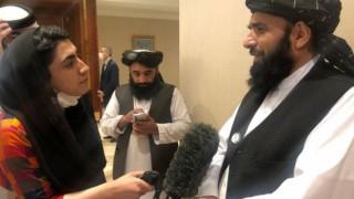 Doha'daki Afganistan barış görüşmeleri: Bir kadın muhabirin Taliban'la mülakat deneyimi