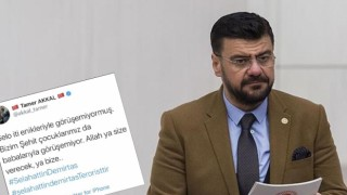Hesabından Selahattin Demirtaş'a hakaret tweet'i atılan AKP'li Tamer Akkal hakkında suç duyurusu