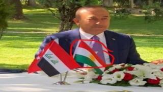 İYİ Partili başkandan IKBY'nin kullandığı resmi bayrağa hakaret