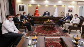 Van'daki Oda başkanları Kapıköy Sınır Kapısı için Vali Bilmez ile görüştü