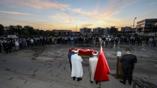 Koronavirüsten hayatını kaybeden Savcı Kaya'nın cenazesi memleketine gönderildi