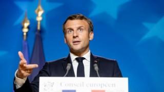 Macron: Gaziantep üzerinden Dağlık Karabağ'a 300 Suriyeli militan gönderildi, Putin de bunu teyit etti
