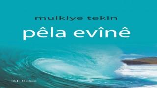 Mülkiye Tekin'in Pêla Evînê şiir kitabı çıktı